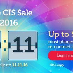 Singtel: Online CIS Sale for One Day Only Up to $200 OFF Mobile Phones