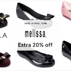 Zalora: Coupon Code for Extra 20% OFF MELISSA Shoes
