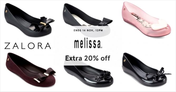 Zalora: Coupon Code for Extra 20% OFF MELISSA Shoes Till 14 Nov 2016, 12pm  -  <div class=