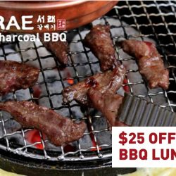 Seorae: $25 OFF Weekday BBQ Lunch with Min. $80 Spending