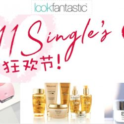 LookFantastic: Double 11 Best Deals Up to 30% OFF Perricone MD, Caudalie, Elemis, Jurlique & More!