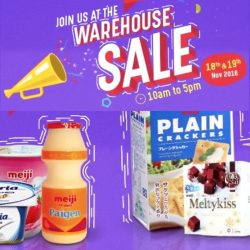 Meiji: Warehouse Sale 2016