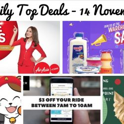 BQ's Daily Top Deals: 2 Hours Singing Session at $8 Nett for Students, Meiji Warehouse Sale, AirAsia FREE Seats, Uber $3 OFF & 1-for-1 Soft Serve Ice-Cream!