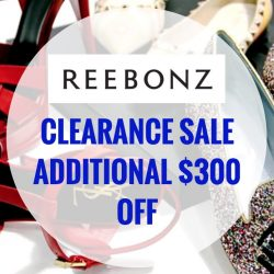 Reebonz: Coupon Code for Additional Up to $300 OFF at Clearance Sale