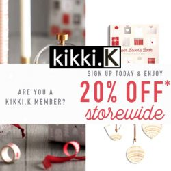 kikki.K: Coupon Code for 20% OFF Storewide on Stationery & Gifts