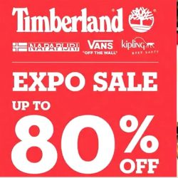 Timberland: Expo Sale up to 80% OFF Timberland, Vans, Kipling & Napapijri