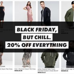 ASOS: Coupon Code for 20% OFF EVERYTHING