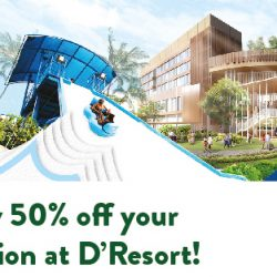 Downtown East: Coupon Code for 50% OFF Your Staycation at D'Resort