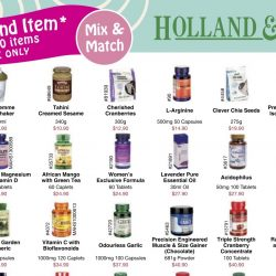 Holland & Barrett: $2 on Second Item Over 200 Items & Coupon Promotions