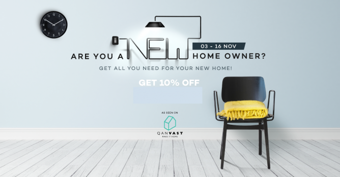 Lazada: Coupon Code for 10% OFF Home Products