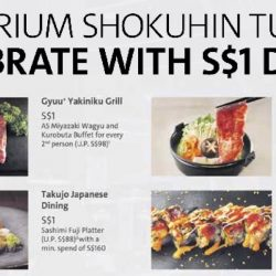 Emporium Shokuhin: $1 Dining Deals with OCBC Cards