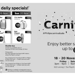 Philips: Carnival Sale Up to 60% OFF Kitchen Appliances, Personal Care, Home Theatre & Sound Systems & More