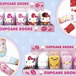 Cheers / FairPrice Xpress: Sanrio Characters Cupcake Socks Available for a Limited Time!