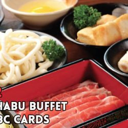 Suki-Ya: 2-for-2 Shabu-Shabu Buffet (60min) with OCBC Cards!