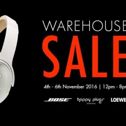 Atlas: Warehouse Sale Up to 80% OFF Bose, Happy Plugs & Loewe Audio Products