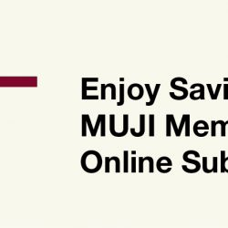 MUJI: Coupon Code for 10% OFF with Min. Spend of $100