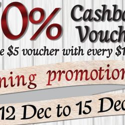 Watami: Reopening Promotion at Junction 8 - 50% Cashback Voucher!
