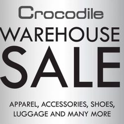 Crocodile: Warehouse Sale with Great Deals on Apparel, Accessories, Shoes, Luggage & More!