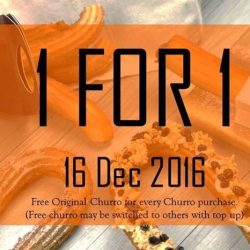 Mr Churro: 1-for-1 Churro at Orchard ION