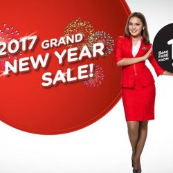 AirAsia: 2017 Grand New Year Sale from $0.17 to Bali, Penang, Phuket, Bangkok, Langkawi & More!