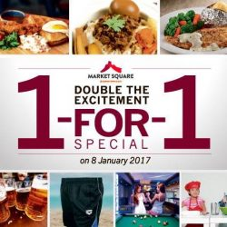Downtown East: 1-For-1 Opening Special at Andes by Astons, Eighteen Chefs, Hei Sushi, McDonald's, Pizza Hut & More!