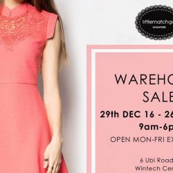 Little Match Girl: Warehouse Sale with Cheongsam Dresses from $49.90 + Free Gifts