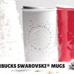 Starbucks: 20% OFF Swarovski Mugs for Starbucks Cardmembers