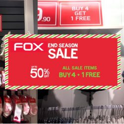 Fox Kids & Baby: End Season Sale Up to 50% OFF + All Sale Items Buy 4 Get 1 FREE
