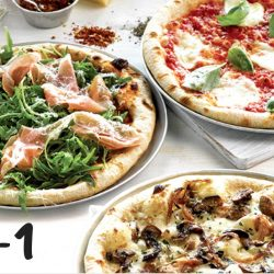 Deliveroo: Enjoy 1-for-1 Pizza with Extra Virgin Pizza in December!