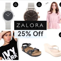 Zalora: Coupon Code for 12.12 Sale - 25% OFF Selected Brands