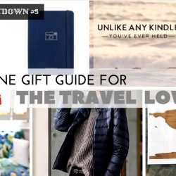 Christmas Countdown 2016 #5- Online Gift Guide for the Travel Lover!