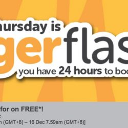 Tigerair: Pay to Go, Return for FREE to Langkawi, Penang, Cebu, Bangkok, Hong Kong & More