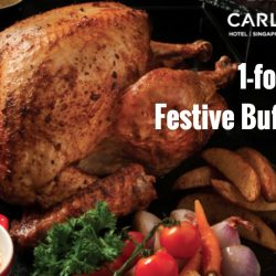 Carlton City Hotel: Exclusive 1-for-1 Festive Weekday Buffet Lunch with Citibank Cards