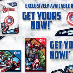 EZ-Link: Limited Edition Collectible Marvel EZ-Charm & EZ-Link Cards Launch!