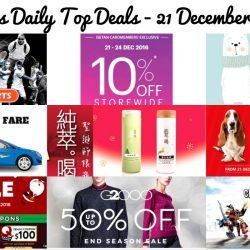 BQ's Daily Top Deals: Hush Puppies Apparel Warehouse Sale, LEGO Warehouse Sale, G2000 End Season Sale, Isetan Members' Sale, World of Sports Sale, $11 OFF Taxi Ride & More!
