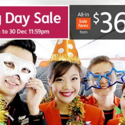 Jetstar: Boxing Day Sale with All-in One Way Fares from $36 to Kuala Lumpur, Bangkok, Hong Kong, Bali, Taipei & More!