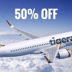 Tigerair: 24 Hours Flash Sale with 50% OFF Langkawi, Bangkok, Phuket, Hong Kong & More!