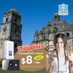 [Changi Recommends] Tour Philippines with ease as we offer UNLIMITED data for $8 a day! Source out the best local eats, attractions