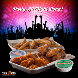 [Wing Zone Singapore] Planning a big New Year's party at the office tomorrow? We fully approve, but be sure to fill your