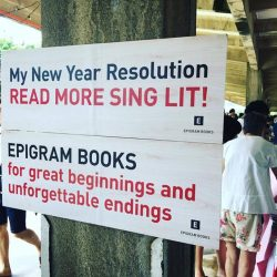 [Epigram Food Books] We're at the Great Christmas Bazaar till 9pm today! Come get Sing Lit for your New Year reads, get