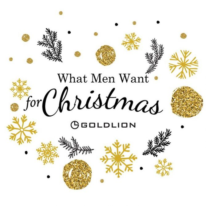 looking for christmas gifts for the men in your life spoil your dad boyfriend and hubby from top to toe with goldlion treats
