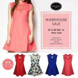[Little Match Girl] Post Xmas SALE @ warehouse All cheongsam dress 1 for $49.90* 2 for $80* 3 for $100*Date : 27 & 28