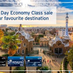 [Citibank ATM] Planning for a get-away this Valentine's day? Book your flight in advance with Emirates Pre-Valentine's Day