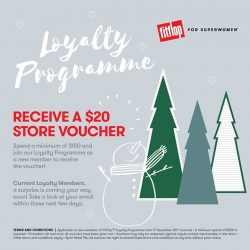 [FitFlop] Are you already a Member of our FitFlop Singapore's Loyalty Programme? Remember to CHECK your email for our GIFT
