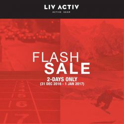 [LIV ACTIV] What better way to celebrate the arrival of the new year with a FLASH SALE! This is one of the