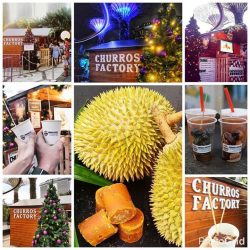[Churros Factory Singapore] Saving the best for last! It's the last day of 2016! End it sweet with our Christmas Wonderland Singapore