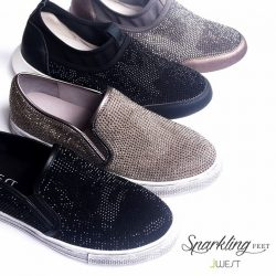 [J West] TGFI! Grab this Sparkling Feet to complete your weekend sporty look! Limited offer $99.90 now! (U.P. $149.90) #