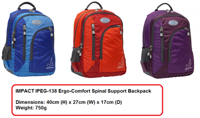 Personal Review Why I Choose Impact Ergo Comfort Spinal Protection School Bag Among The Rest Of Brands In Market