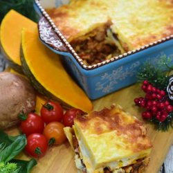[Samsung Singapore] Pumpkin and mushroom lasagne for you? Here's your chance to learn how to make yours! Get a full Xmas