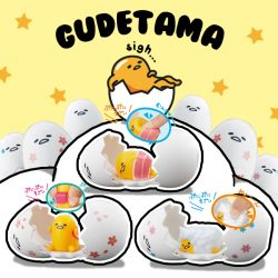 [TOG] Appeared egg of character [Gudetama] is finally in Egg series!Cute specifications at medium Karagu come out once in a